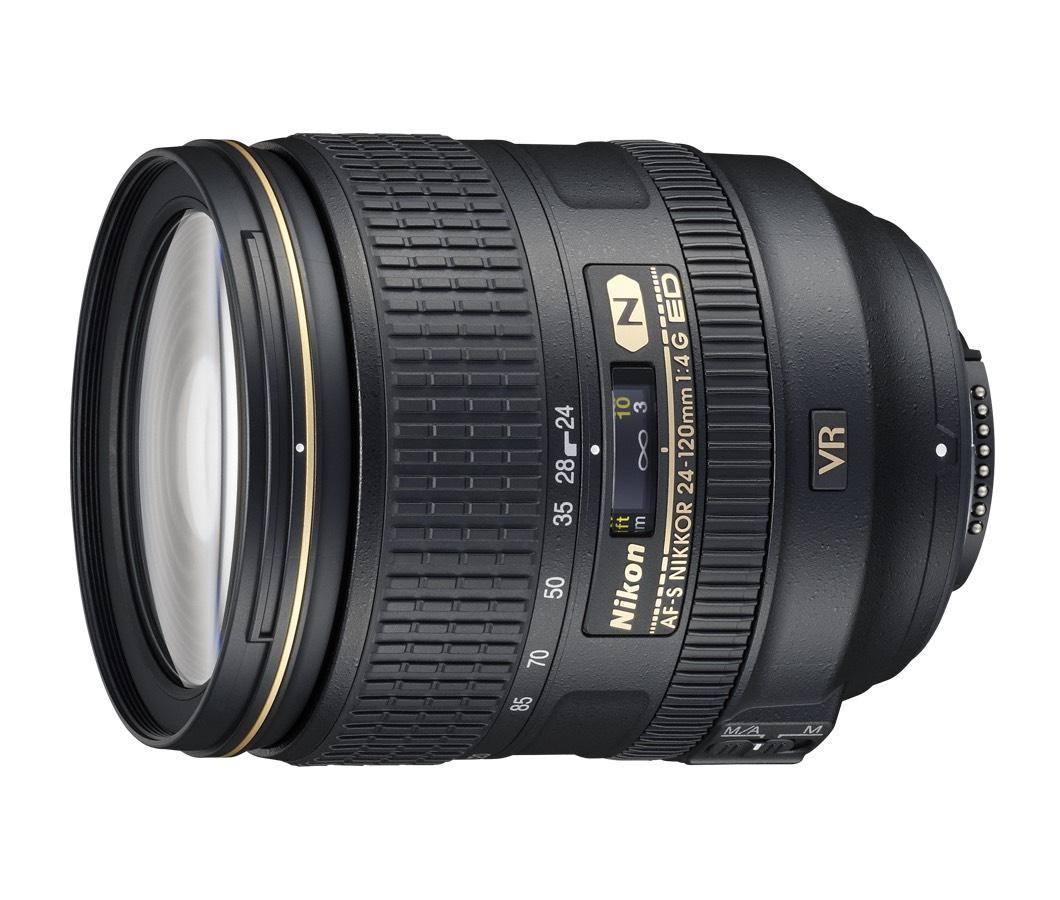 Nikkor AF-S 24-120mm F4.0 G IF-ED VR für Nikon (F Anschluss) [photospecialist]