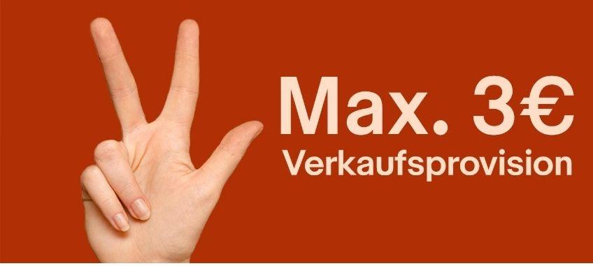 [Ebay] max. 3€ Verkaufsprovision und keine Angebotsgebühr bis Sonntag, den 21.10.18