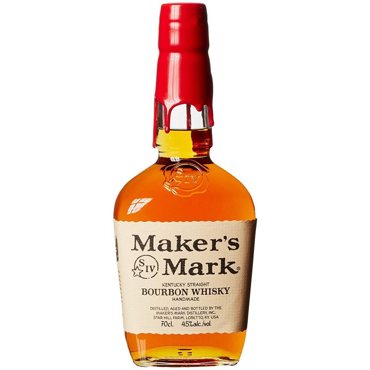 2x Maker's Mark Kentucky Straight Bourbon Whisky