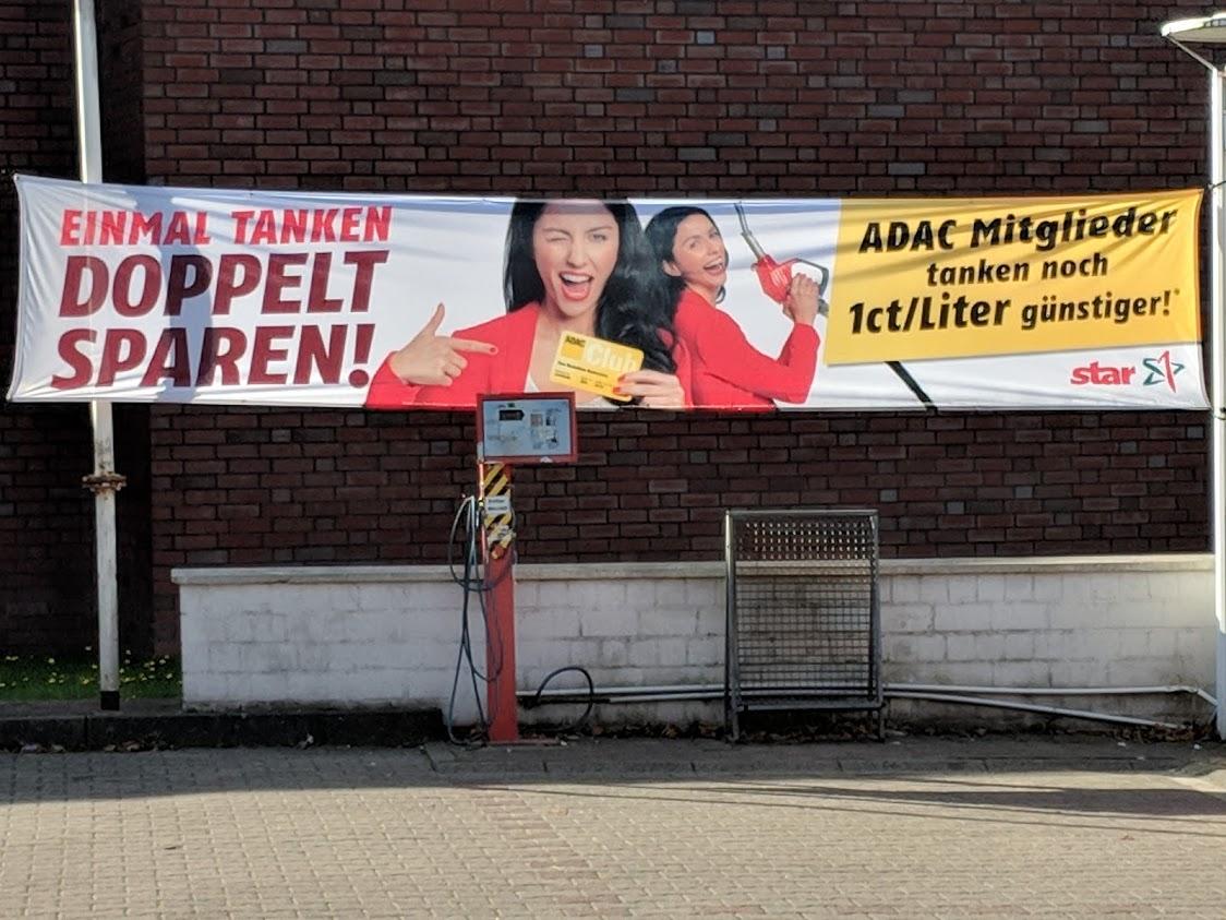 [ADAC Mitglieder] sparen bei STAR-Tankstelle mit ihrer ADAC-Clubkarte zusätzlich 1 Cent pro Liter