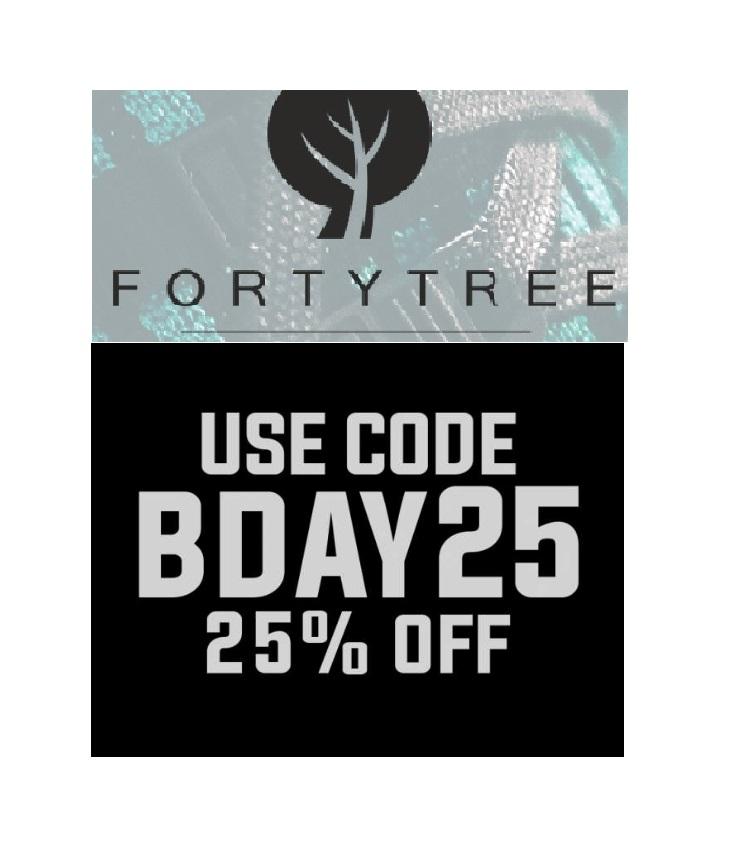 Jetzt 25% Rabatt auf ALLES bei Fortytree Sportsware!