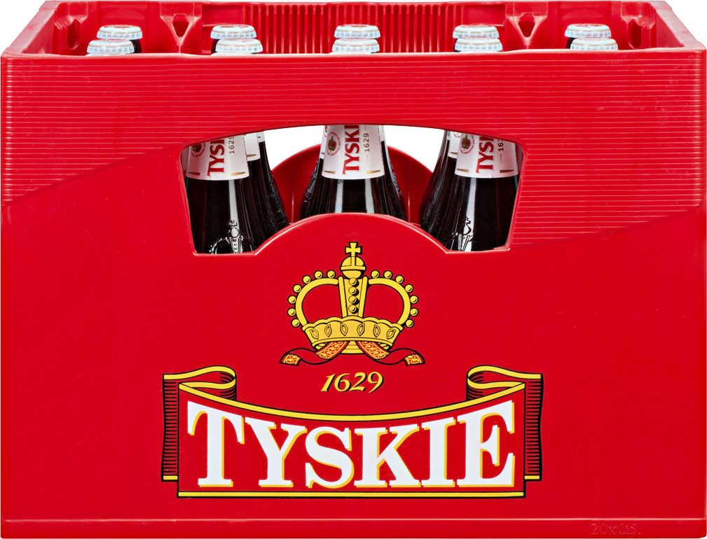 Tyskie Piwo: 20x 0,5l Bier bei Kaufland (ab 18.10.)