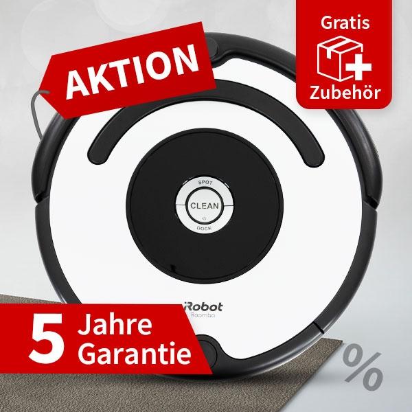 iRobot Roomba 675 Saugroboter + 5 Jahre Garantie + Gratis Versand