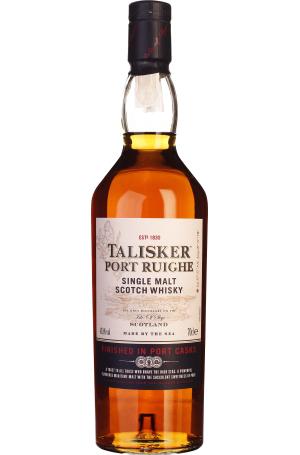 (Drankdozijn) Whisky: Talisker Port Ruighe 0,7l beim Holländer des Vertrauens