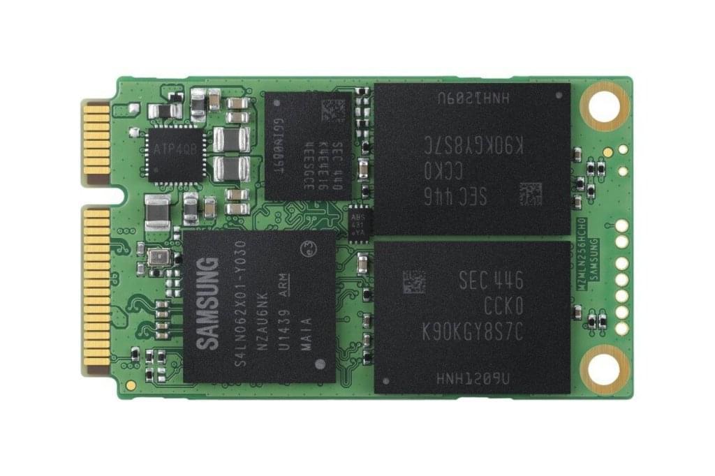 Samsung 850 EVO MZ-M5E500BW - SSD - 500 GB - intern - mSATA