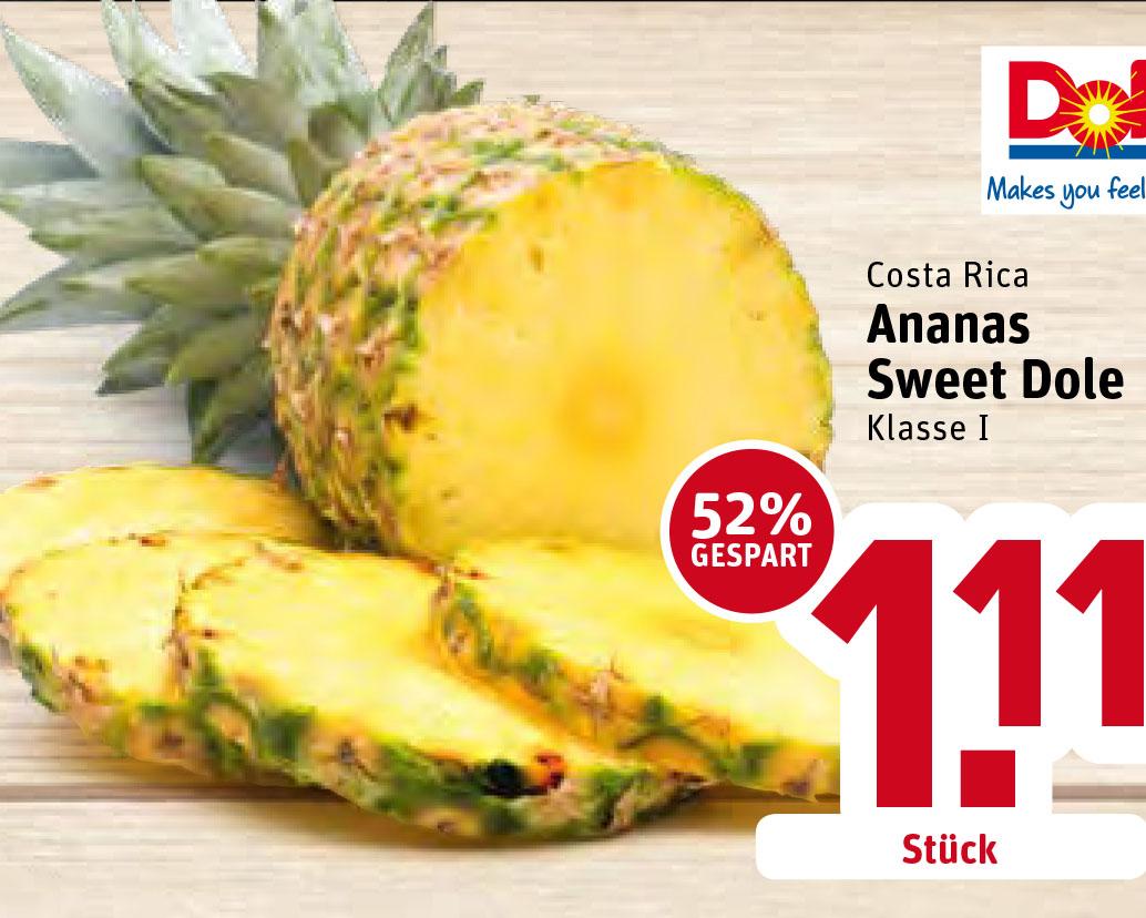 Ananas Extra Sweet @REWE