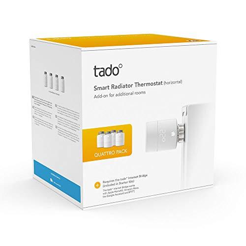 4 Tado Heizkörperthermostate für nur €179