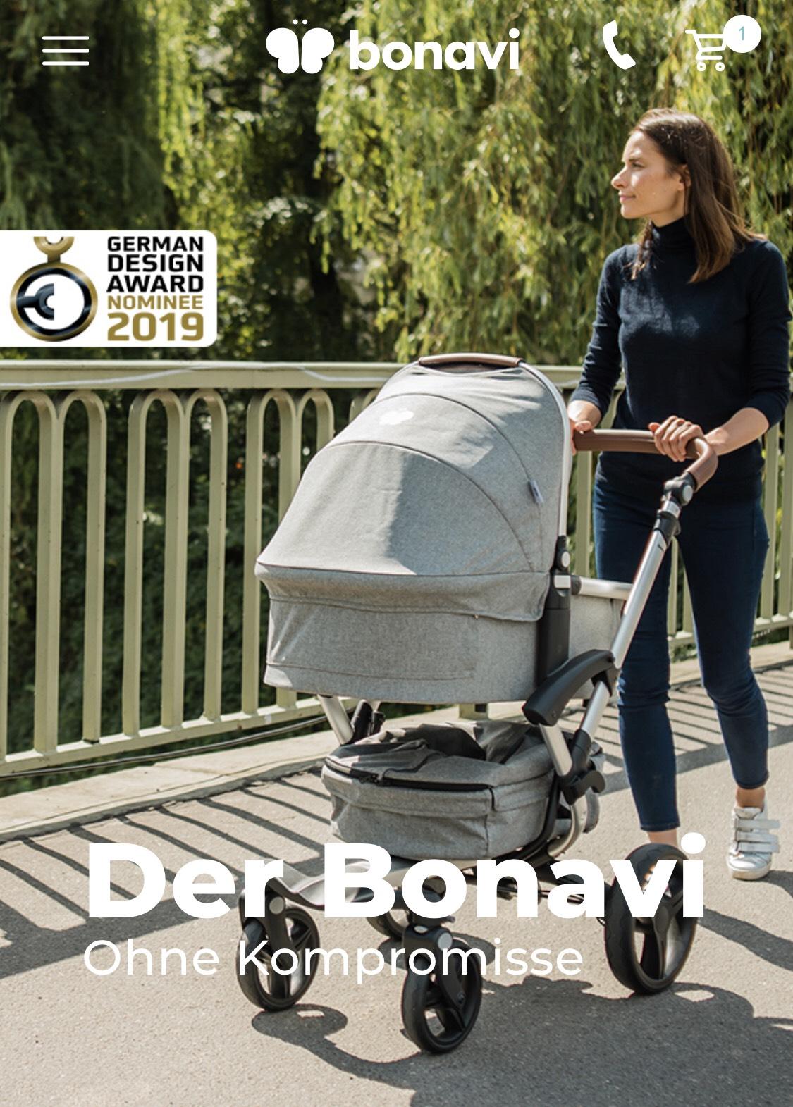 Bonavi Kinderwagen 2.0 100€ Gutschein
