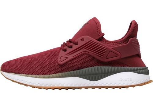 Puma Tsugi Cage Sneaker in Rot oder Grau für 38,95€zzgl. Versand (Größen 39 bis 46)