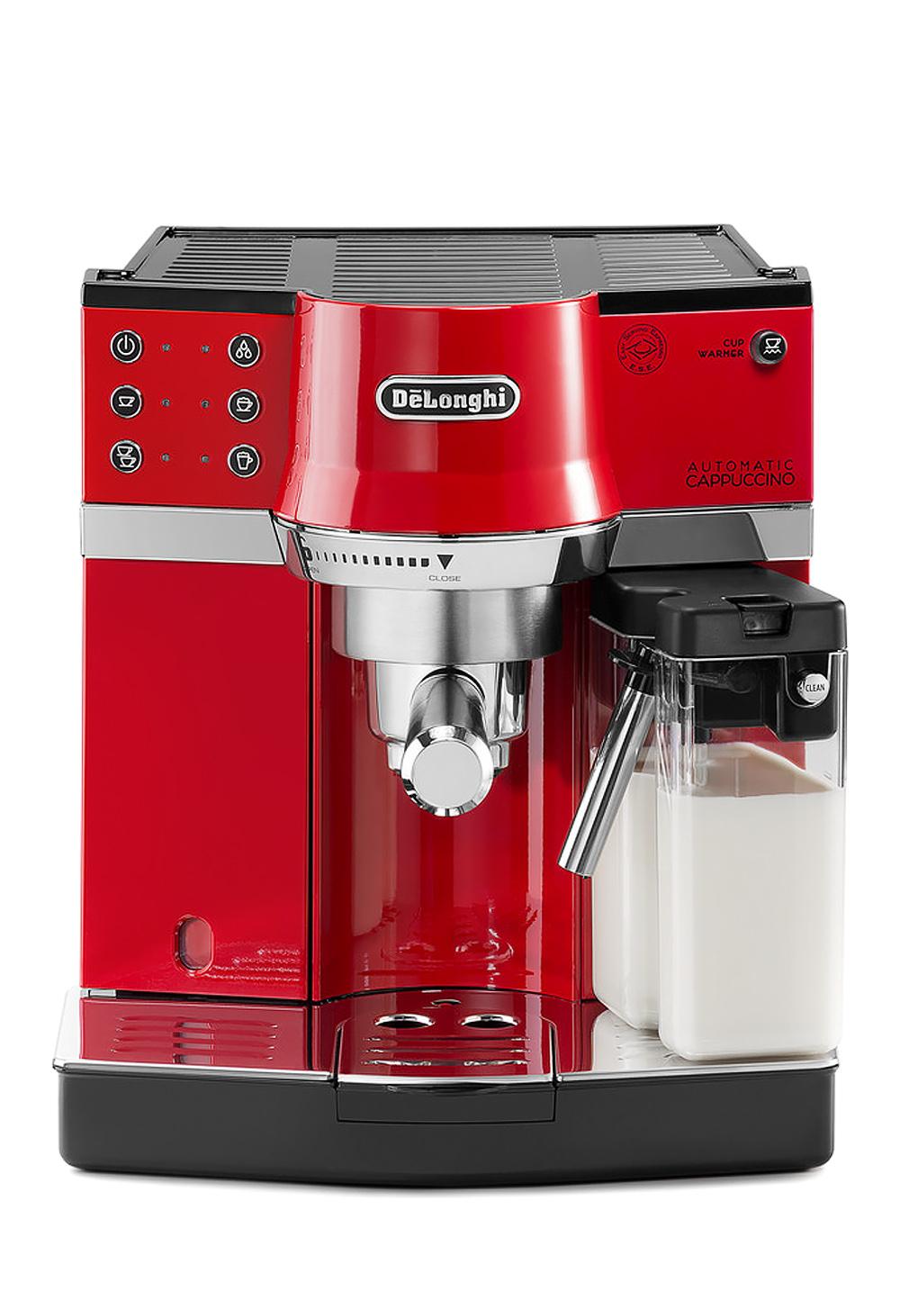 Espresso-Siebträgermaschine De'Longhi EC 860 (1450W, 15 bar, Kaffeepulver oder E.S.E.-Pads, Milchaufschäumsystem, Wasserfilter)
