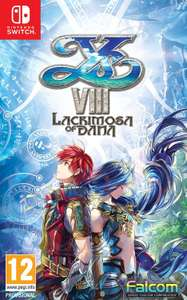 Ys VIII Lacrimosa of DANA Adventurer's Edition (Nintendo Switch) (Netgames)