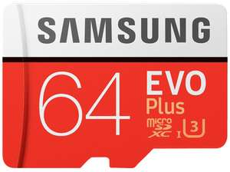 Samsung EVO Plus Micro SDXC 64GB Class 10 U3 Speicherkarte (Mediamarkt/Amazon)