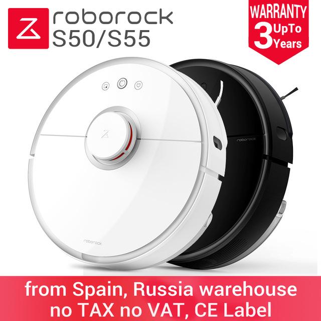 Xiaomi Roborock S50 S55 Roboter Staubsauger int. Version aus Spanien