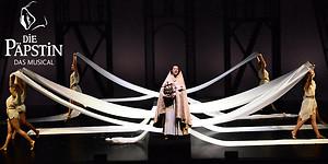 2 für 1 Tickets PK1 für das Musical die Päpstin im Festspielhaus Füssen