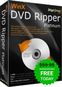 Giveaway of the day — WinX DVD Ripper Platinum 8.8.1 - Kostenlos
