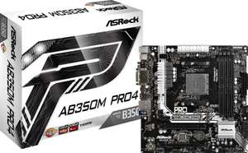 ASRock Mainboard AB350M Pro4 B-Ware