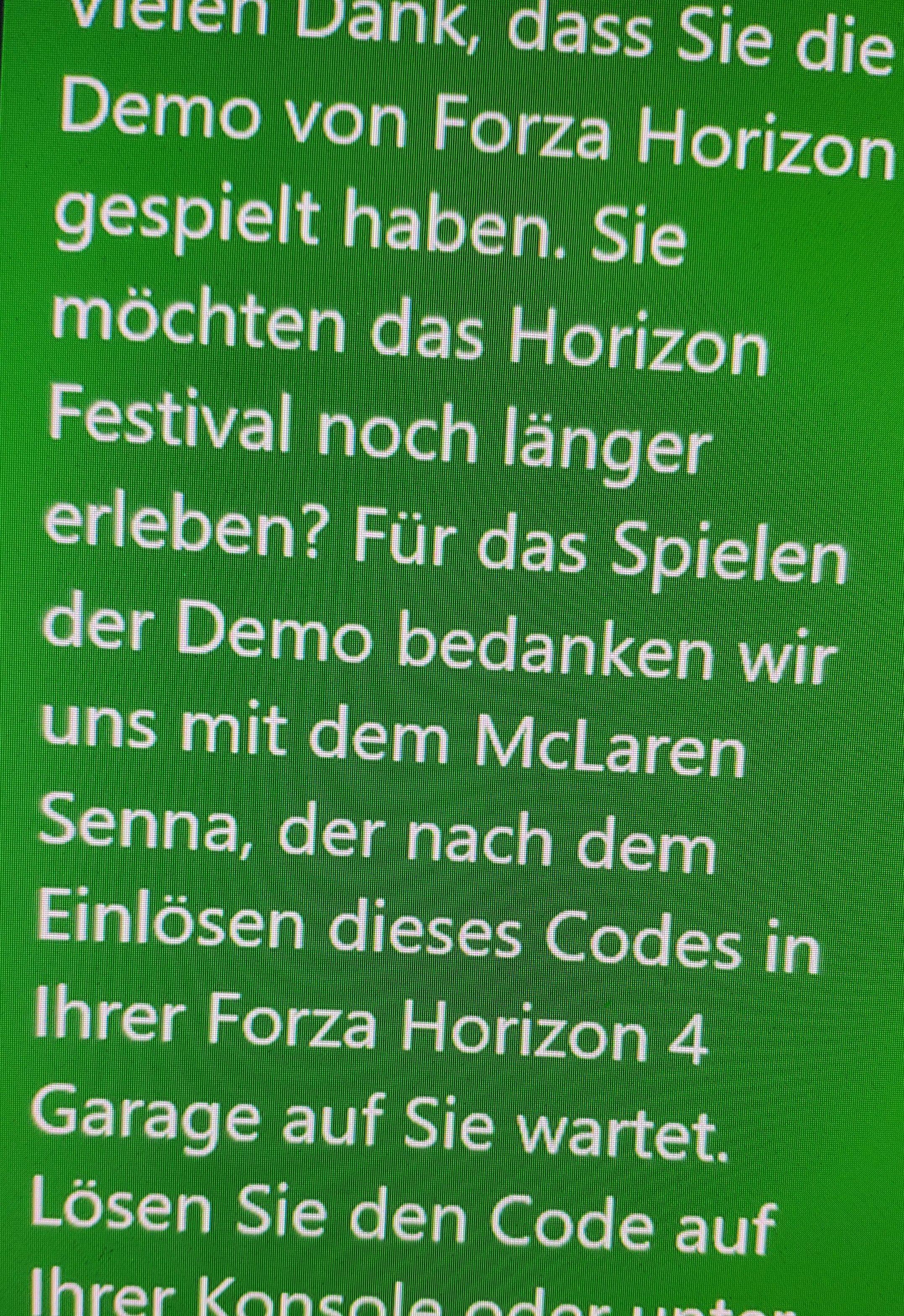 Forza Horizon 4 - Gratis Fahrzeug für alle Demospieler