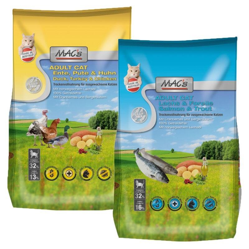 MACs Cat Trockenfutter 4 x 1,5 kg
