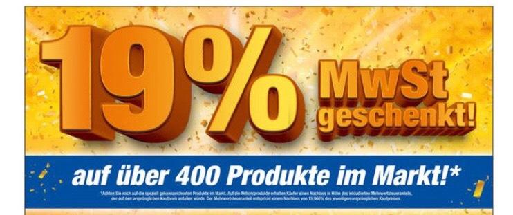 [LOKAL EXPERT] 19 % Aktion auf bestimmte Artikel z.B. AEG L9FS86699 Waschmaschine 9kg A+++ für 727,38 €