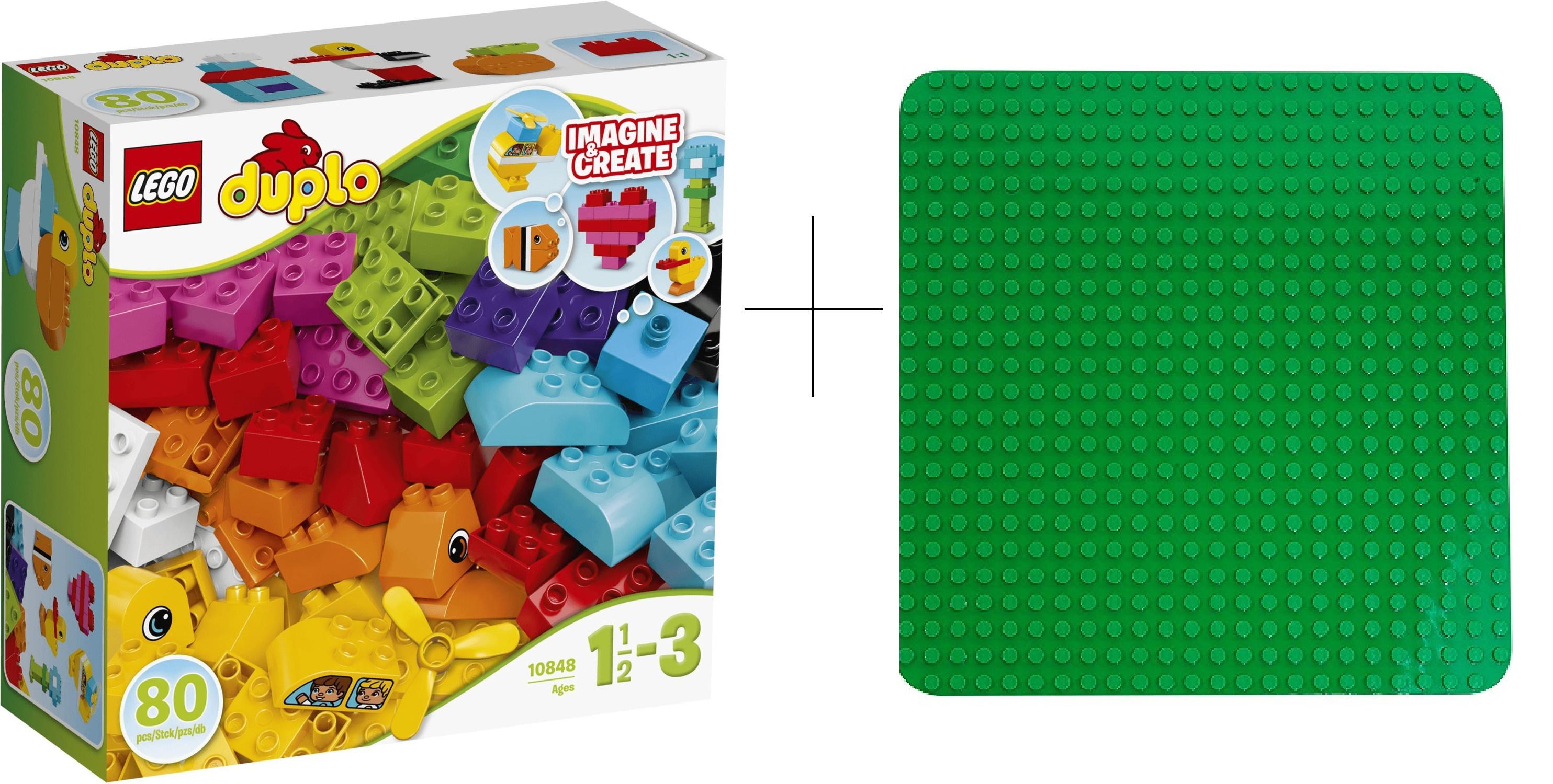 Lego Duplo Basisplatte + Bausteine Gutscheinfehler