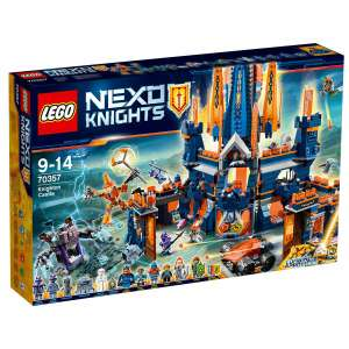 LEGO Nexo Knights - Schloss Knighton & Ninjago Flugsegler für jeweils 80€ (Abholung Karstadt)