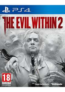 The Evil Within 2 (PS4 für 12,83€ & (Xbox One) für 11,20€ (Base.com &ShopTo)