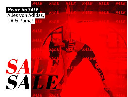 40% Rabatt auf alles von adidas & Under Armour % Puma + kostenloser Versand + 8% Shoop bei [MY-SPORTSWEAR]