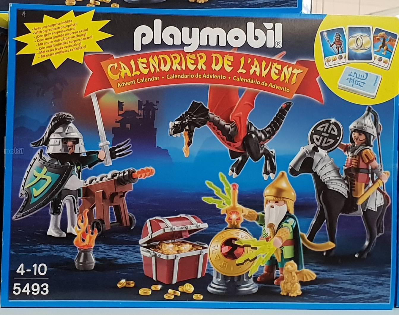 Playmobil Adventskalender Kampf um den Drachenschatz (5493) bei Thomas Philipps [Nauheim]