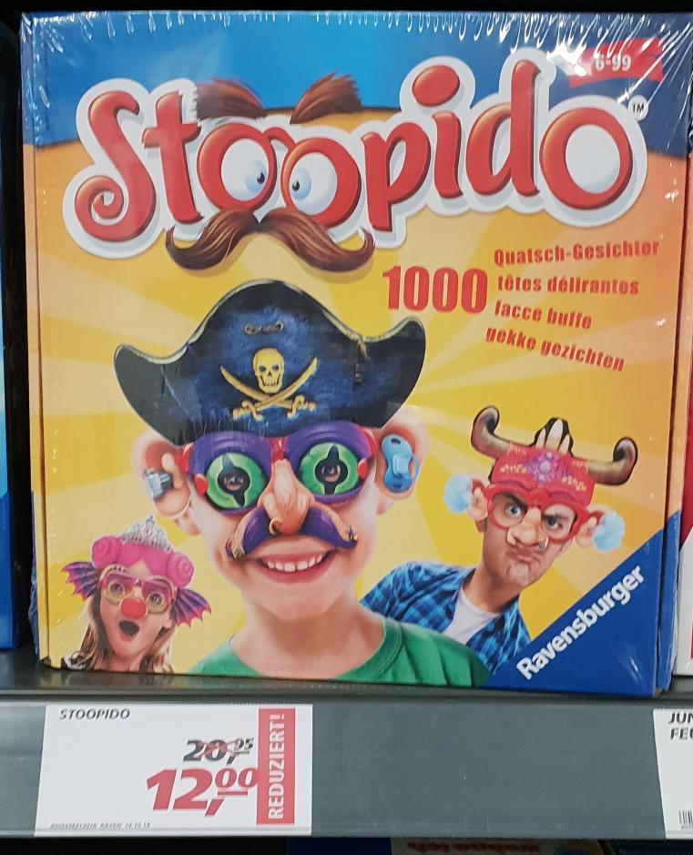 Stoopido (Ravensburger 21301) bei Real im Markt für nur 12,00€