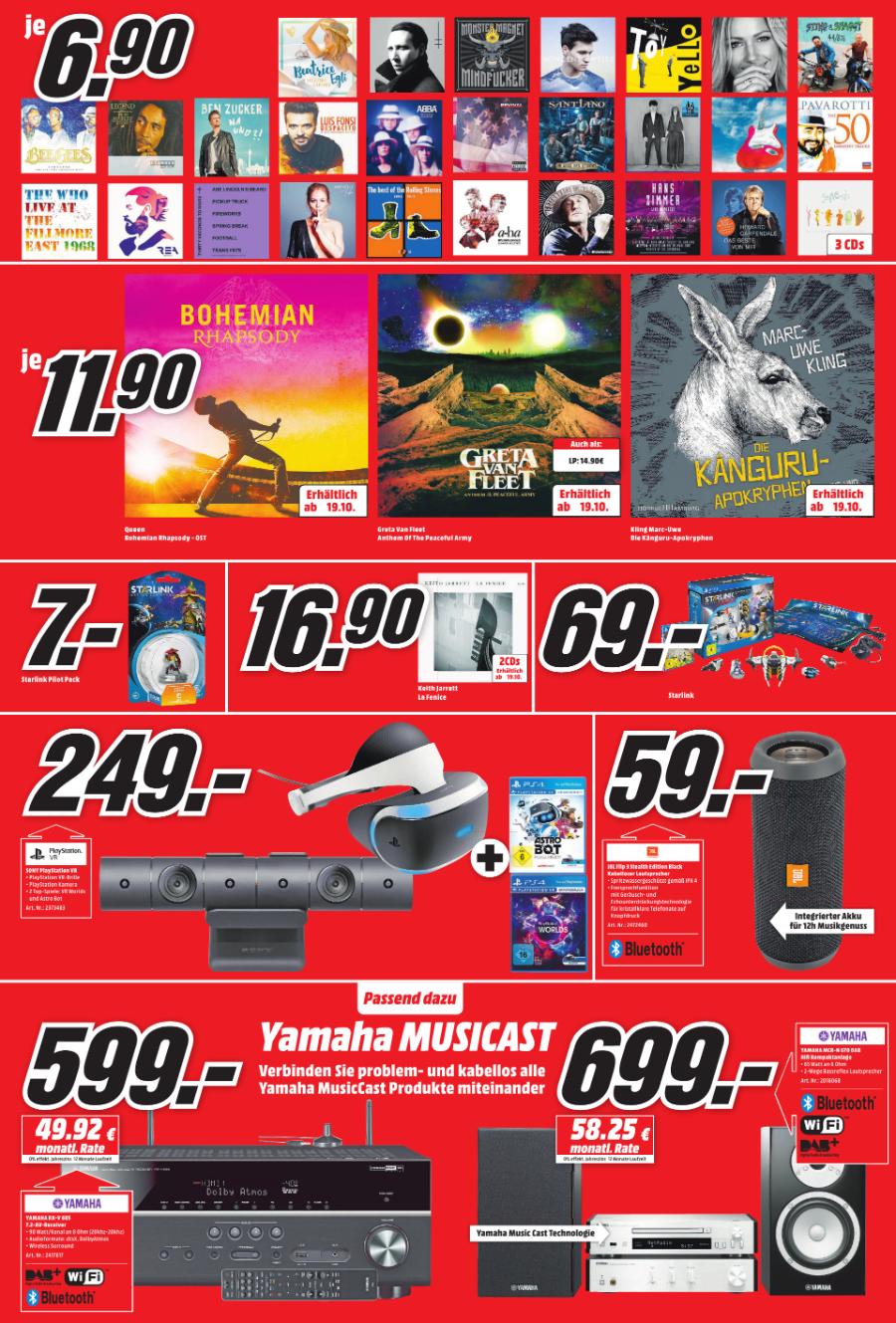 LOKAL - MM Mainz / Bischofsheim / Alzey - Playstation VR + Playstation Kamera + VR Worlds + Astro Bot Rescue Mission - 249€