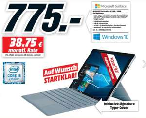 [MM Berlin] MICROSOFT Surface Pro Intel® Core™ i5, 128 GB SSD, 8 GB RAM, inkl. Signature Type Cover