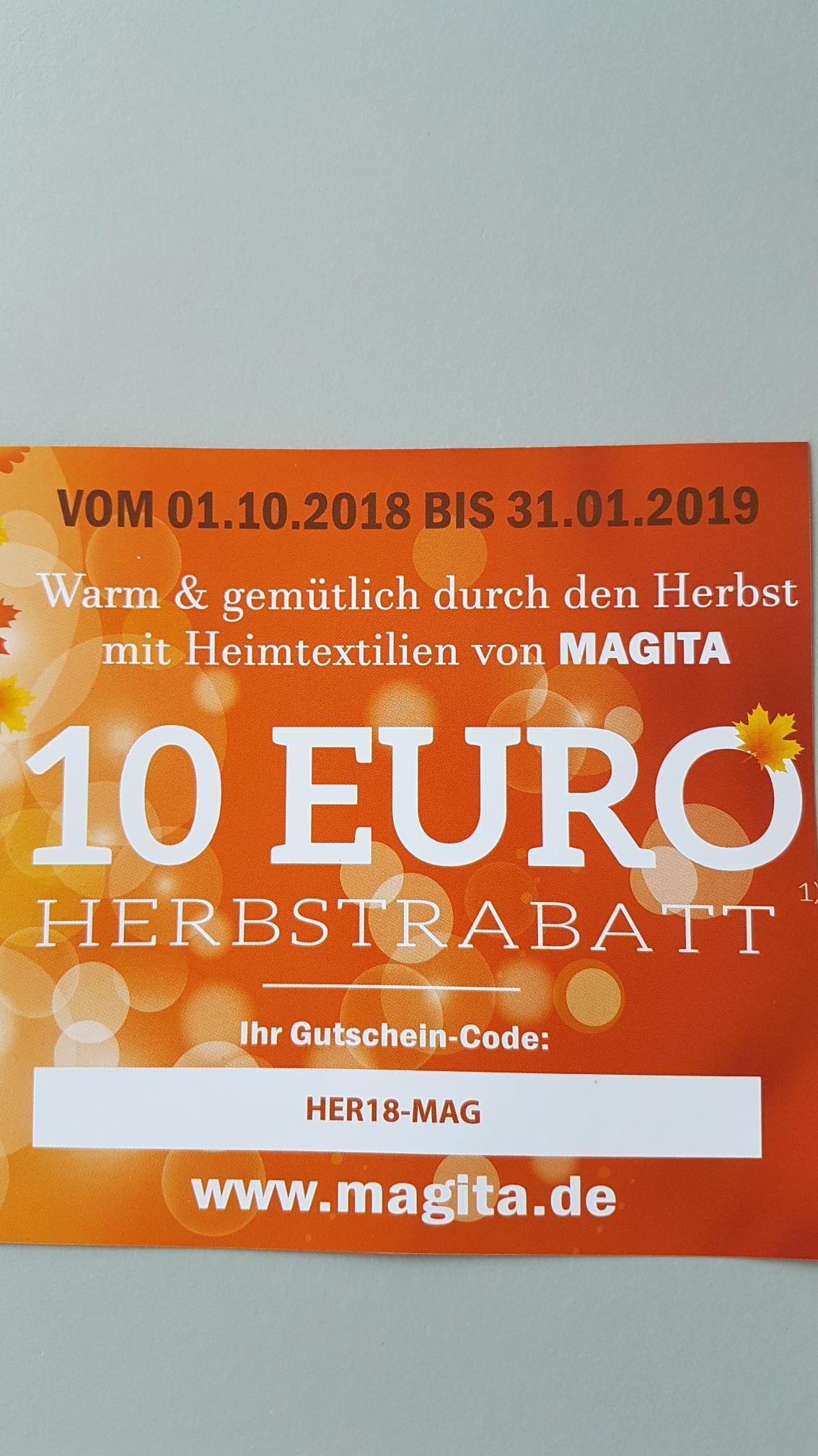 Magita clever einrichten - 10€ Rabatt ab 50€ Warenkorbwert