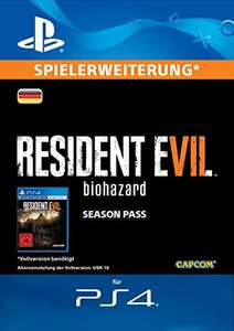 Resident Evil 7: Biohazard - Season Pass (Add-On) (PS4)