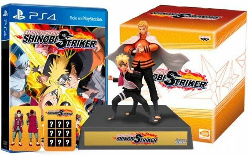 Naruto to Boruto: Shinobi StrikerUzumaki Collector's Edition (PS4) inkl. Season Pass + 19cm Figur (Amazon.fr)