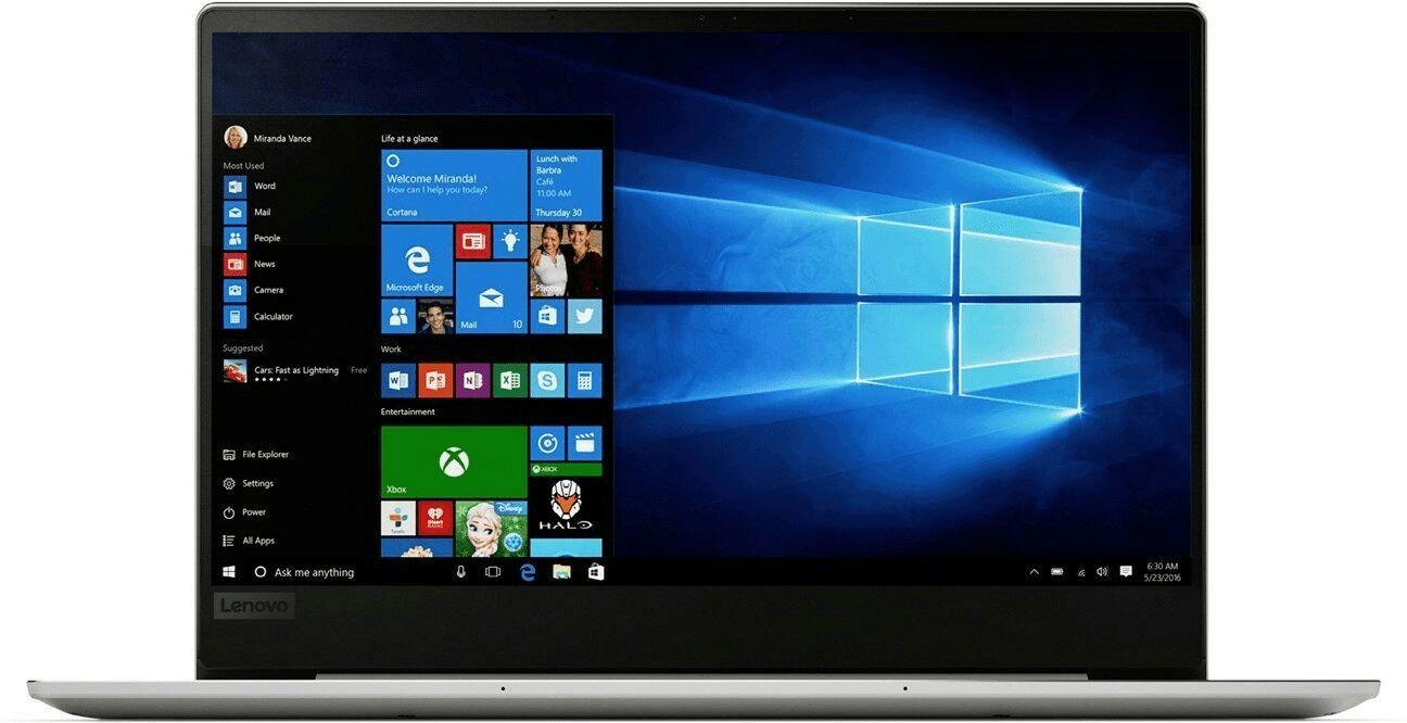 Lenovo IdeaPad 720S-13ARR - Full HD IPS, Ryzen 5 2500U mit Vega 8, 8GB RAM, 128GB SSD PCIe, Bel. Tastatur, 1.14kg, Win10 (Technikdirekt)