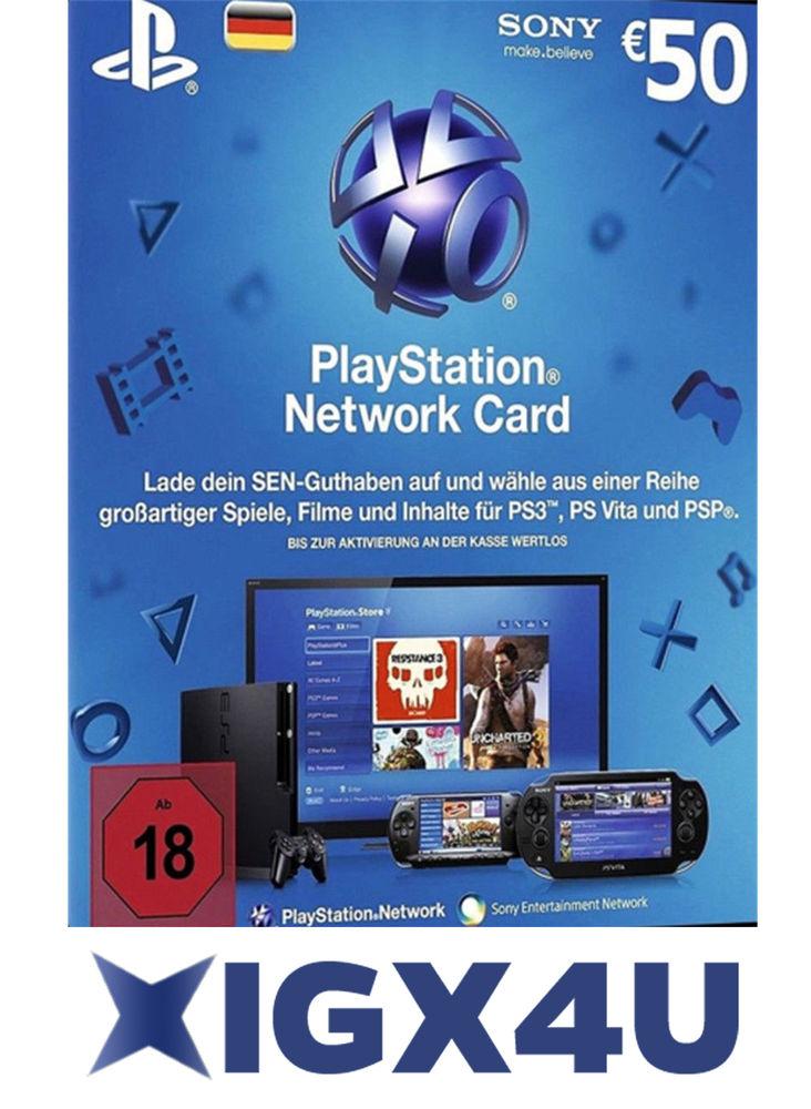 50€ PSN Guthaben für 40,79€ // Xbox Live Gold 1 Jahr für 33.96€ // Xbox 20€ Guthaben für 18,23€ // Xbox 50€ Guthaben für 44.19€