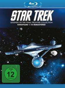Star Trek I - X: Legends of the final frontier collection (10 Blu Ray Disks) [Thalia]