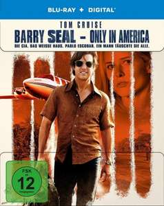 Barry Seal - Only in America Limited Steelbook Edition (Blu-ray + UV Copy) für 11,96€ (Media-Dealer)