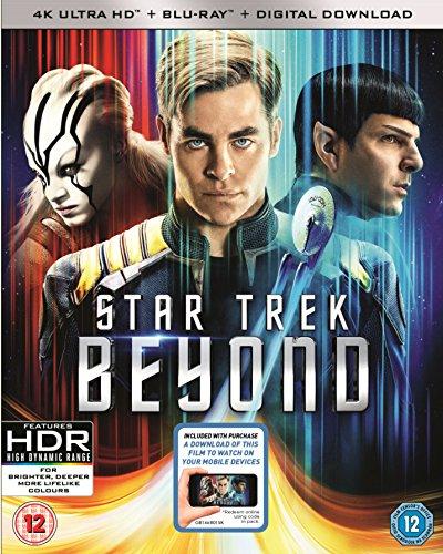Star Trek - Beyond (4K Blu-ray + Blu-ray) für 13€ (Amazon.co.uk)