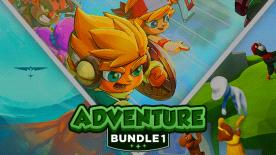 3 Adventure Bundles: z.B. Adventure Bundle 1 (InnerSpace, Human Fall Flat, Next Up Hero)