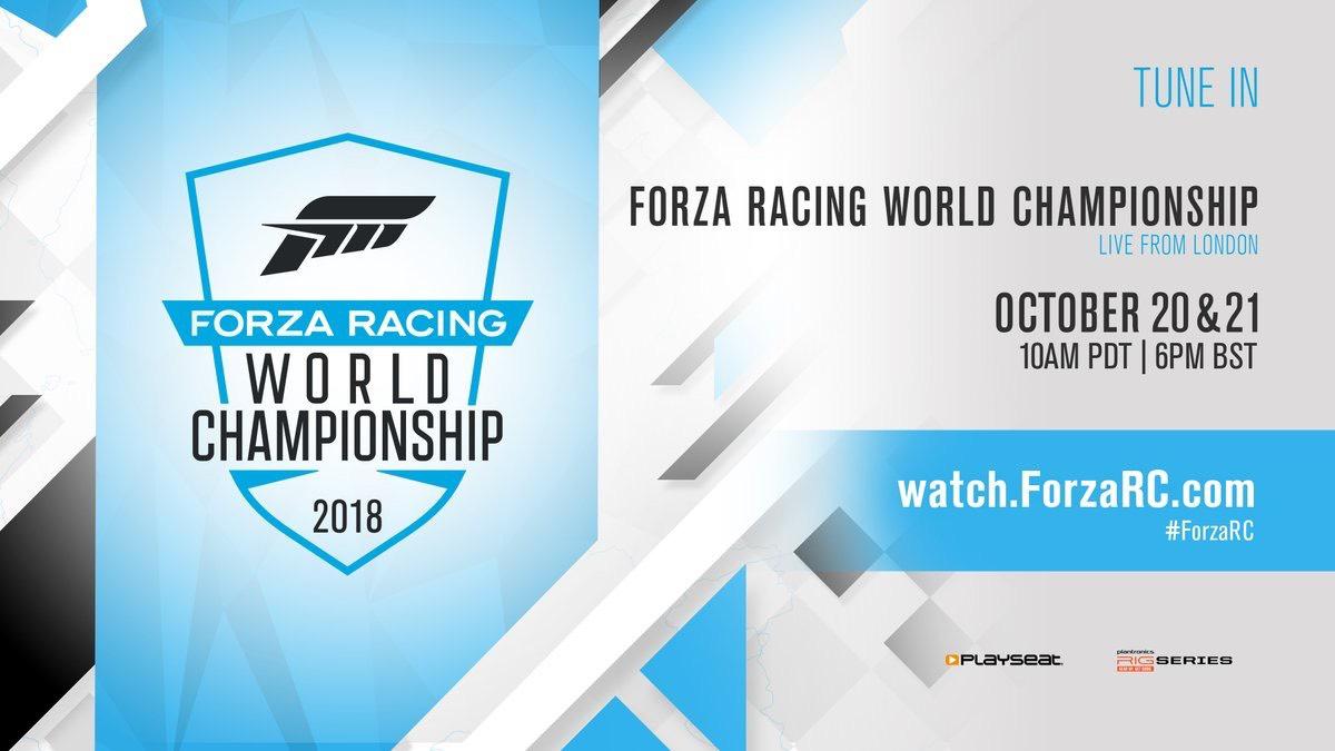 Forza Racing World Championship - Kostenlose Autos, Lackierungen und Fahreranzug für Forza Motorsport 7 (Xbox/PC)