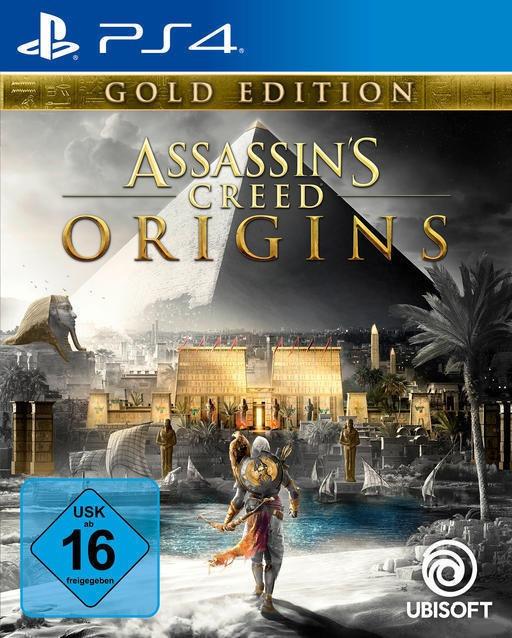Assassin's Creed: Origins Gold Edition inkl. Season Pass (PS4) für 39,99€ (Amazon)