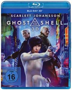 Ghost in the Shell 3D (3D Blu-ray) für 8,65€ (Media Dealer)