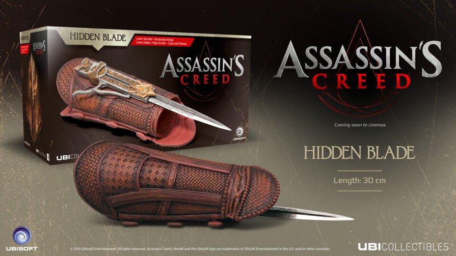 Ubisoft - Assassin's Creed Movie - Hidden Blade für 29,45€ (Shop4world)