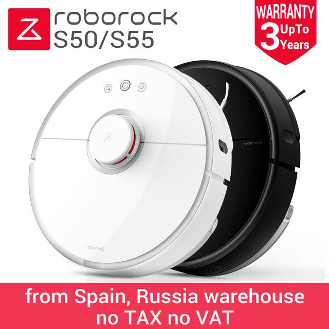 Xiaomi Roborock S50 Roboter Staubsauger int. Version Vorbestellung Versand aus Spanien