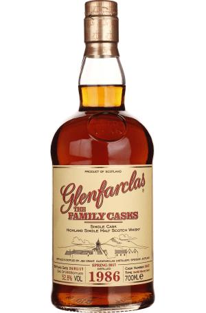 [drankdozijn.de] Glenfarclas Vintage 1986 Family Casks Whisky (30 Jahre) für 290€ inkl. Versand