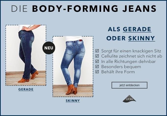 sheego  25% Rabatt auf Jeans + shoop  *Nur heute*