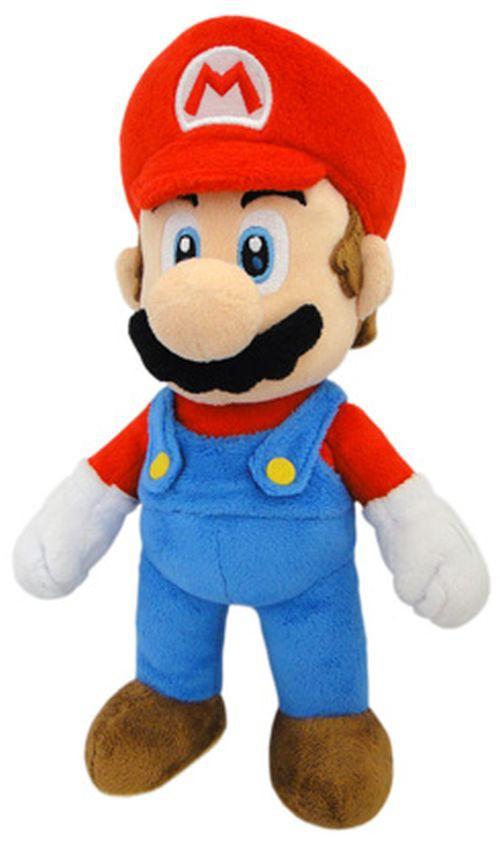 Nintendo, Minion und Disney Plüschfiguren im Angebot bei 4u2Play - Beispiel Mario, bewegliche Arme+Beine (ca 26cm)