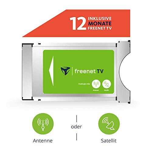 freenet TV CI+ Modul inkl. 12 Monate freenet für Antenne (DVB-T2 HD) & Satellit (DVB-S)