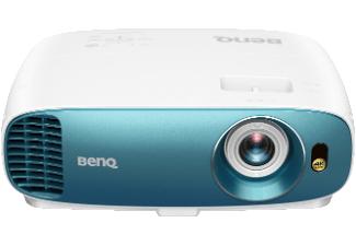 BenQ TK800 DLP Projektor (4K UHD via Pixelshift, FHD nativ, HDR, 120 Hz, 3000 ANSI Lumen, Football Mode, 10.000:1 Kontrast, HDMI)